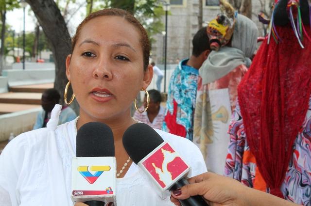 Vikleydes García Foto: Prensa Gobernación Carabobo